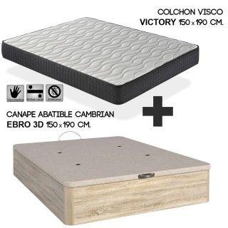 Canapé y Colchón 150 cm x 190 cm, Llévate los Artículos más Top a Casa ahora
