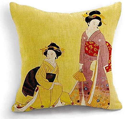Compra los Productos sobre Almohadas Geisha a Casa Aquí